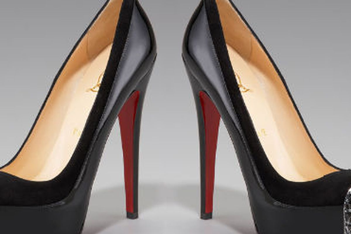 """Christian Louboutin Asteroid Spike-Toe pump, <a href=""""http://www.neimanmarcus.com/product.jsp?isEditorial=false&amp;index=36&amp;masterId=cat5130731&amp;itemId=prod139030086&amp;cmCat=cat000000cat000141cat000149cat000199cat5130731cat39620738&amp;par"""
