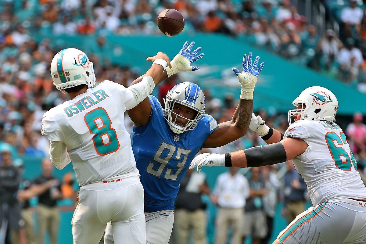 NFL: Detroit Lions at Miami Dolphins