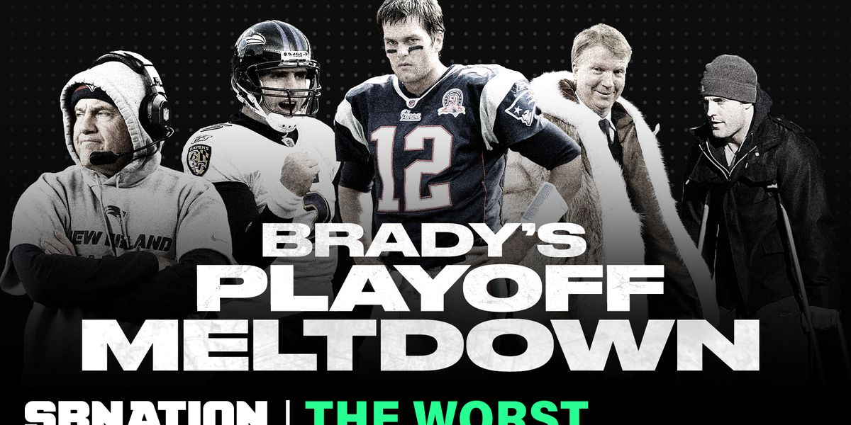 Tom Brady's worst playoff game