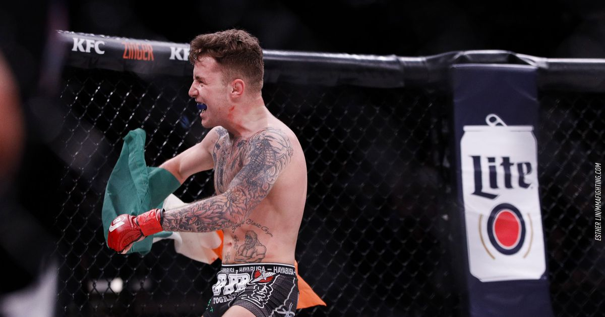 Patchy Mix vs. James Gallagher rebooking in works for Nov. 5 Bellator event