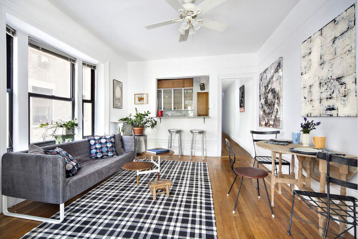 For $395K, a stylish Washington Heights co-op with garden views ...