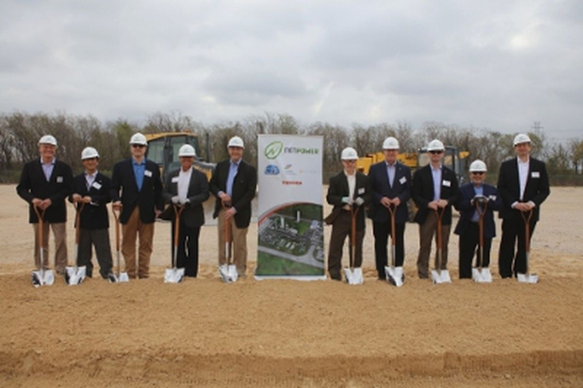Net Power muckety mucks gather to break ground on their demonstration plant.
