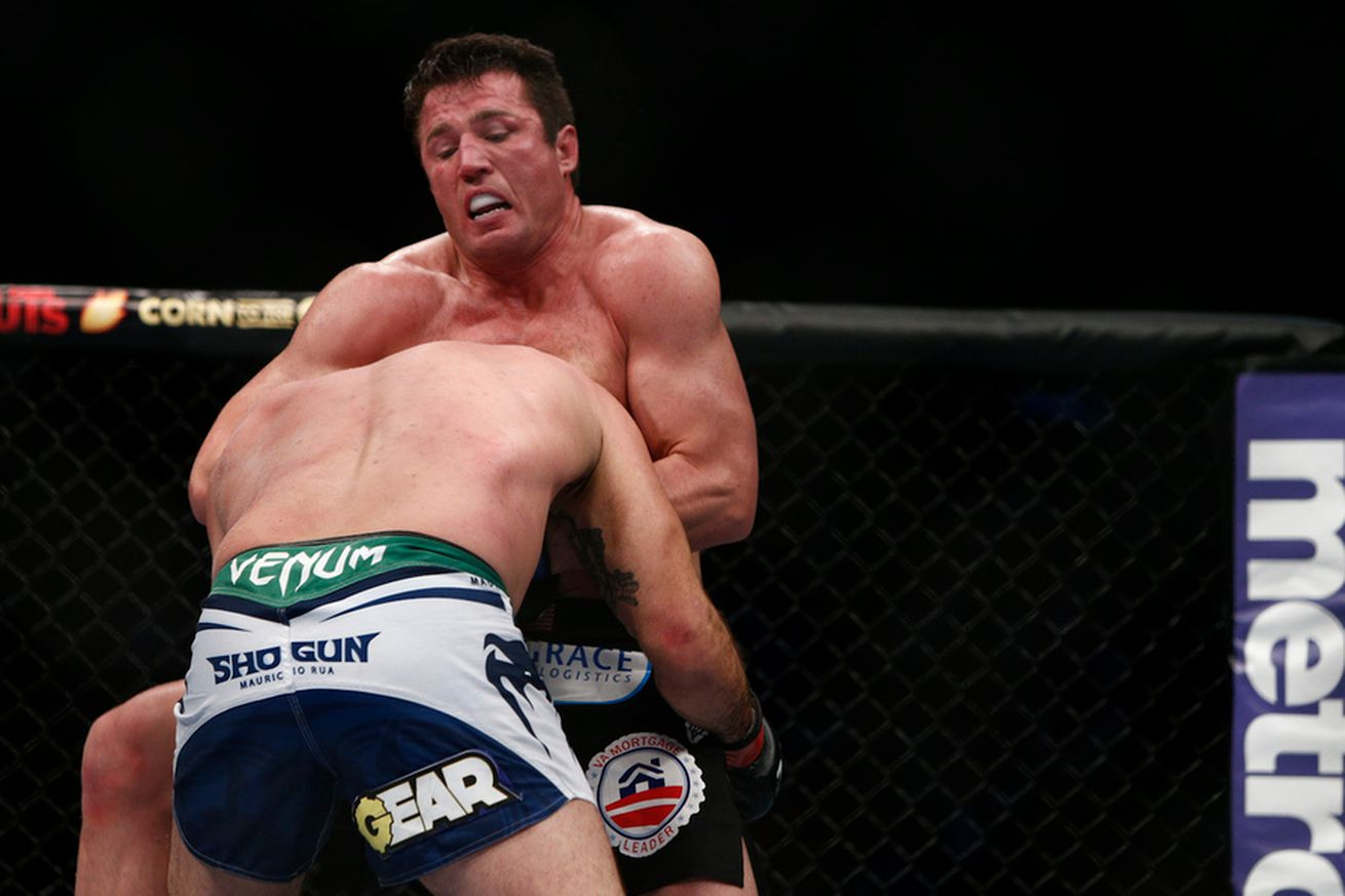 After UFC 213 debacle, Chael Sonnen believes there should be a 'forfeit clause' in MMA