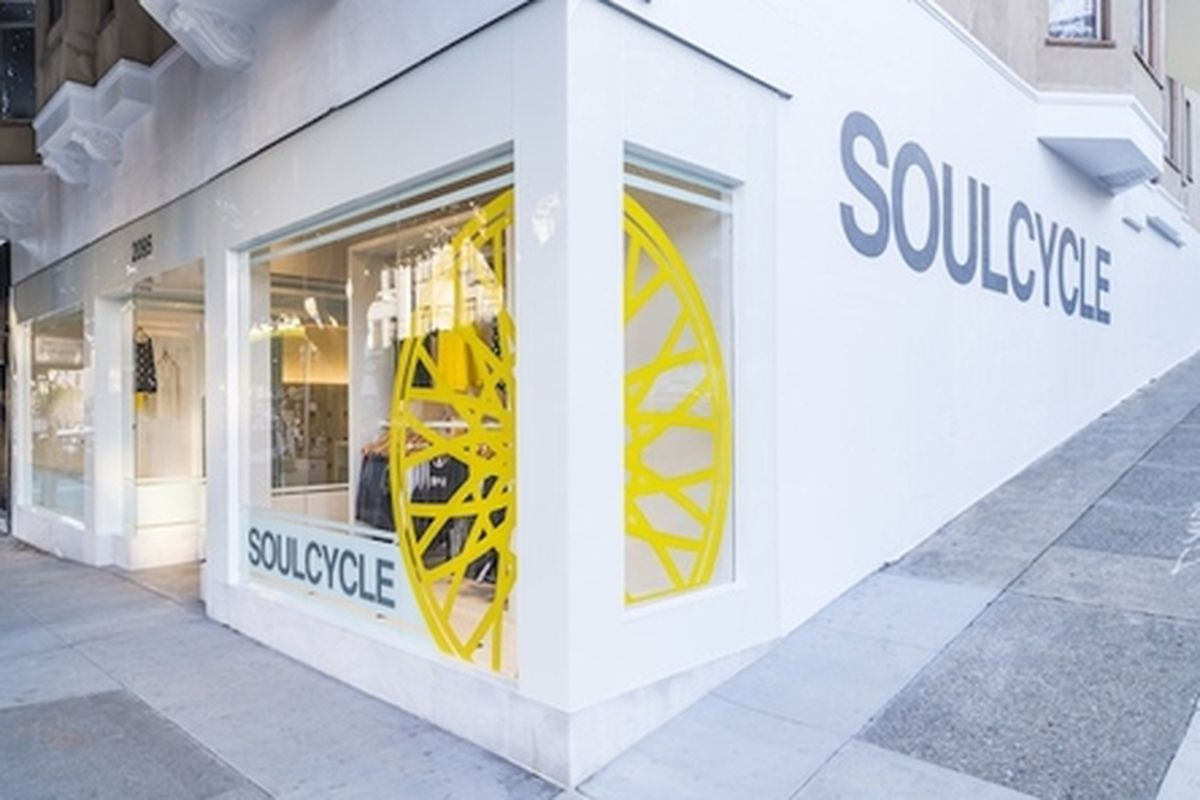 """SoulCycle on Union Street. Image via <a href=""""https://www.soul-cycle.com"""">SoulCycle</a>"""