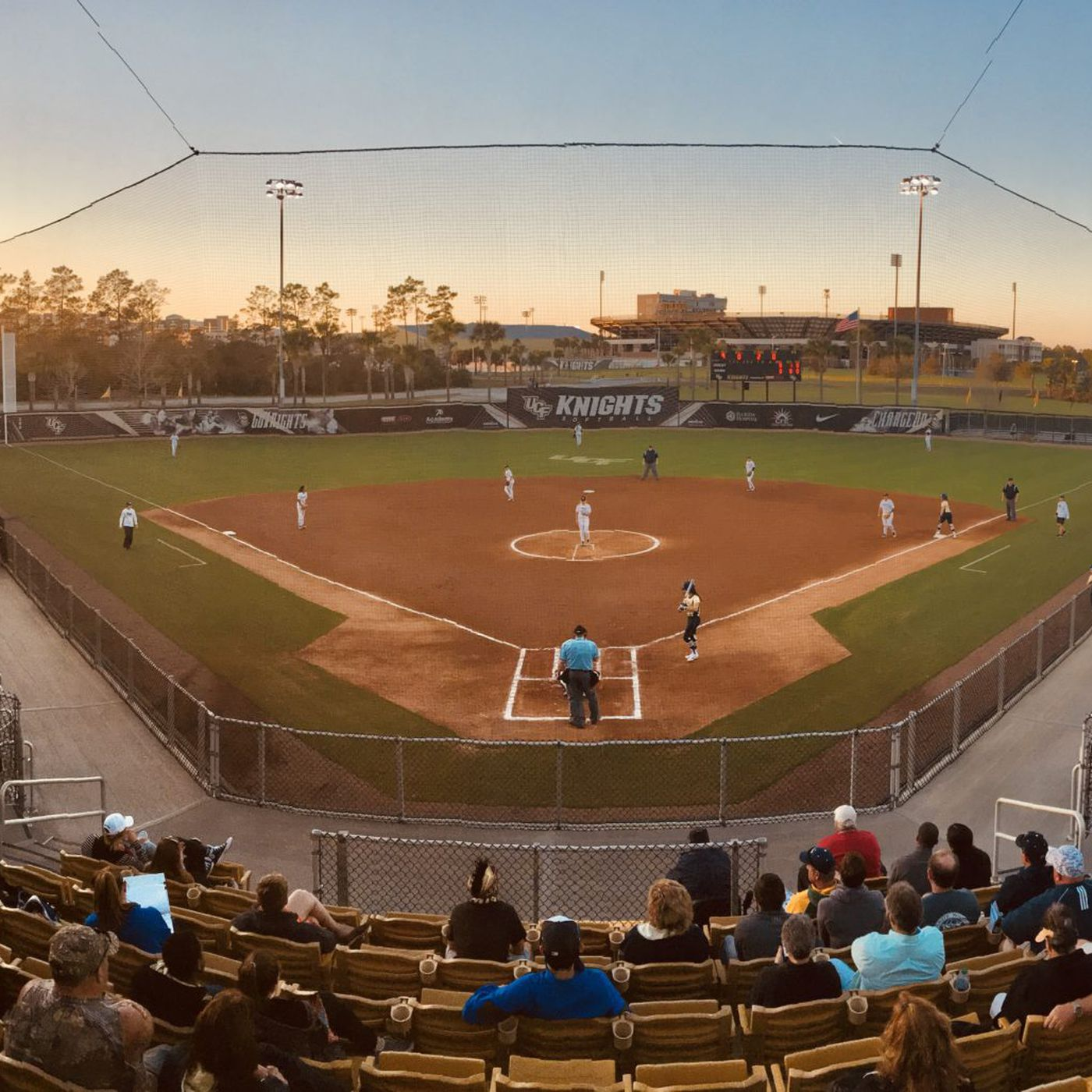 06af6e364fcf WHITE-OUT  Alea White Deals Complete Game No-Hitter for UCF Knights  Softball - Black   Gold Banneret