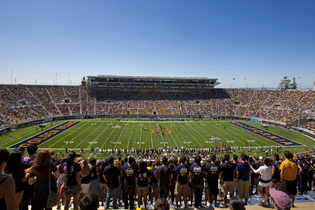 BERKELEY, CA - SEPTEMBER 08:  General view of Memorial Stadium during the first quarter between the California Golden Bears and the Southern Utah Thunderbirds on September 8, 2012 in Berkeley, California. (Photo by Jason O. Watson/Getty Images)