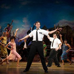 """The Book of Mormon"" musical."
