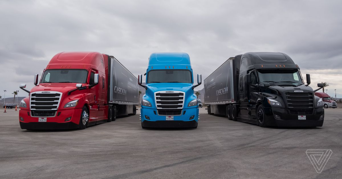 Daimler is beating Tesla to making semi-autonomous big rigs