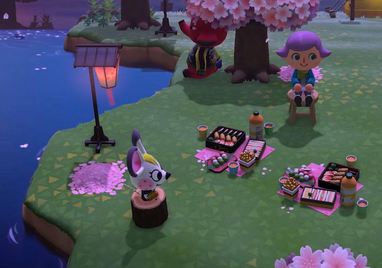 Animal Crossing New Horizons Switch Cherry Blossom Recipe List Polygon