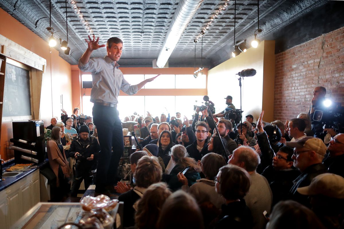 Beto O Rourke Standing On Countertops Explained