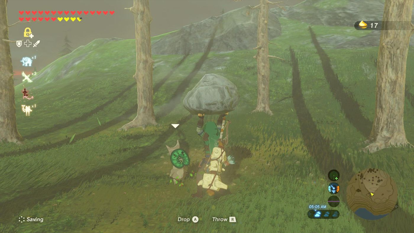 Zelda Breath Of The Wild Guide How To Increase Your Inventory Polygon