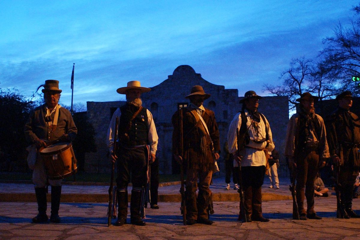 San Antonio Remembers The Fall Of The Alamo