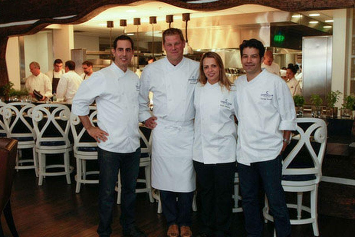 Left to Right: Jason Lewis, Alex Seidel, Sue Zemanick and George Mendes