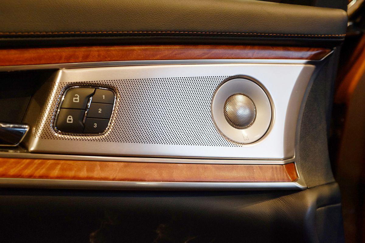 Lincoln MKX Revel Audio