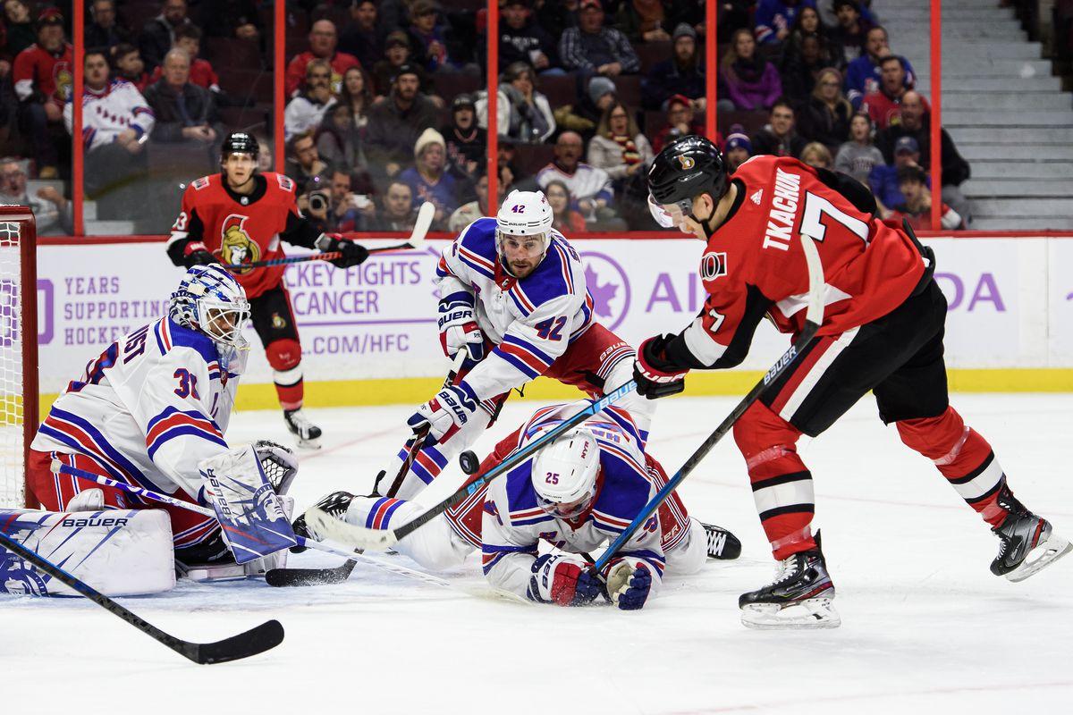NHL: NOV 022 Rangers at Senators