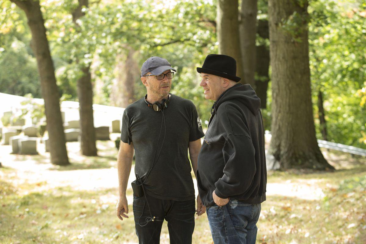David Simon and Paul Haggis work on Show Me A Hero.