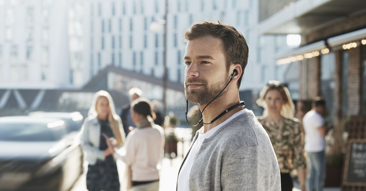 Jabra's new neckbuds have noise cancellation and eight hours of battery life