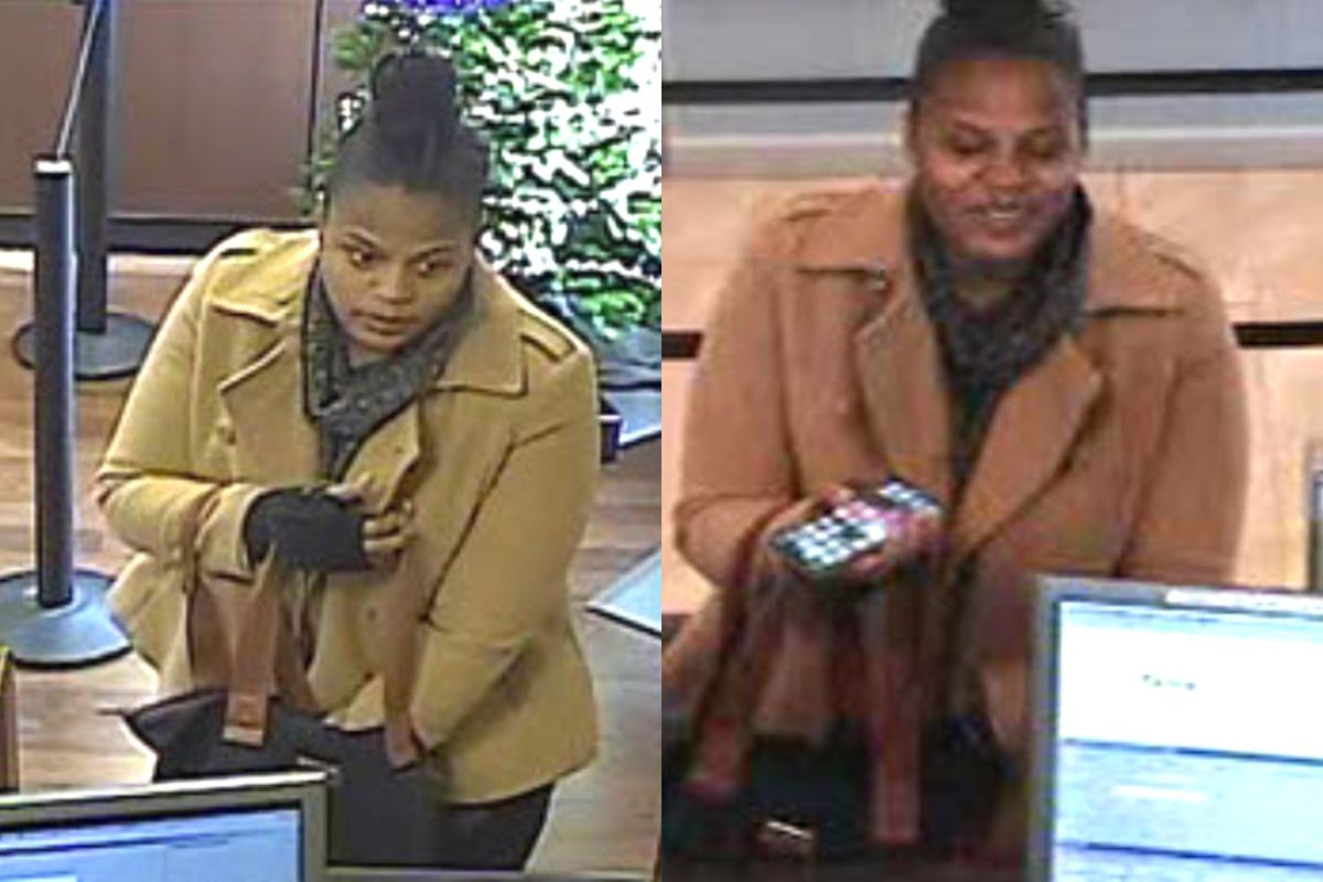 Police say this woman withdrew money from someone else's account on Dec. 18, 2019, in Naperville.