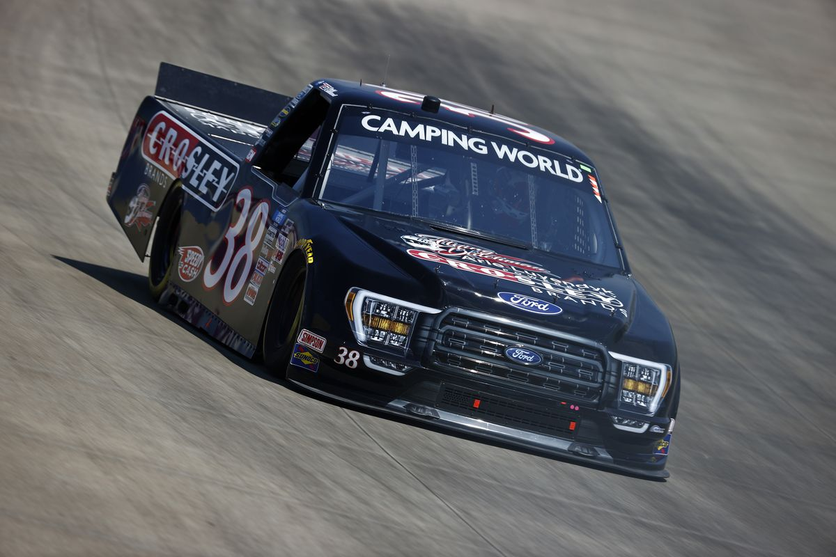 NASCAR Camping World Truck Series Rackley Roofing 200 - Practice