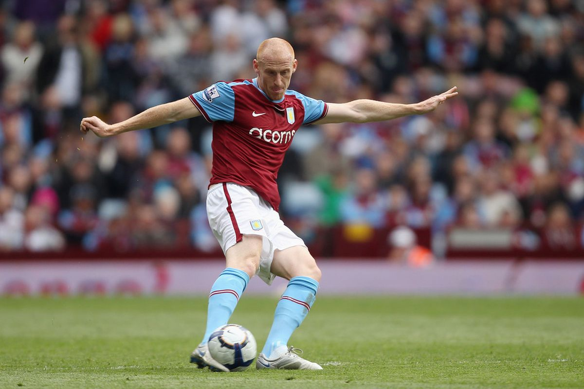 James Collins performs a delicate balancing act (Photo by Warren Little/Getty Images)