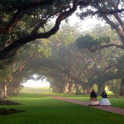 Mobile: Oak Alley Plantation in Louisiana
