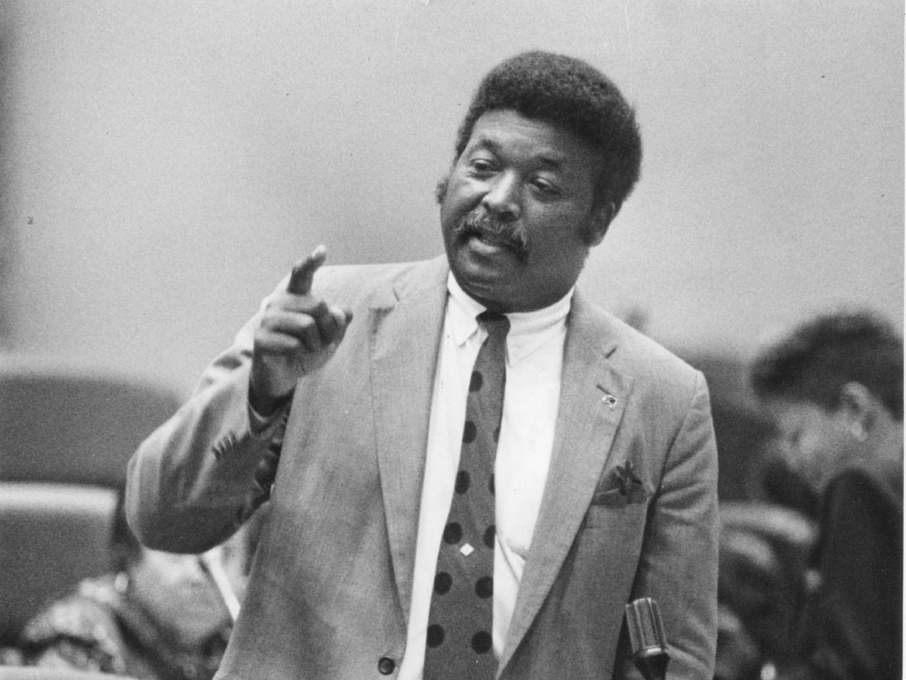 Robert Shaw, former alderman and Cook County commissioner.