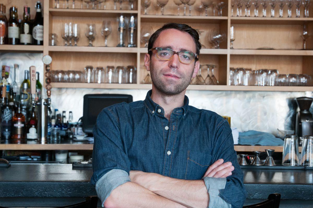 Kai Gagnon, wine director of Bergamot and BISq