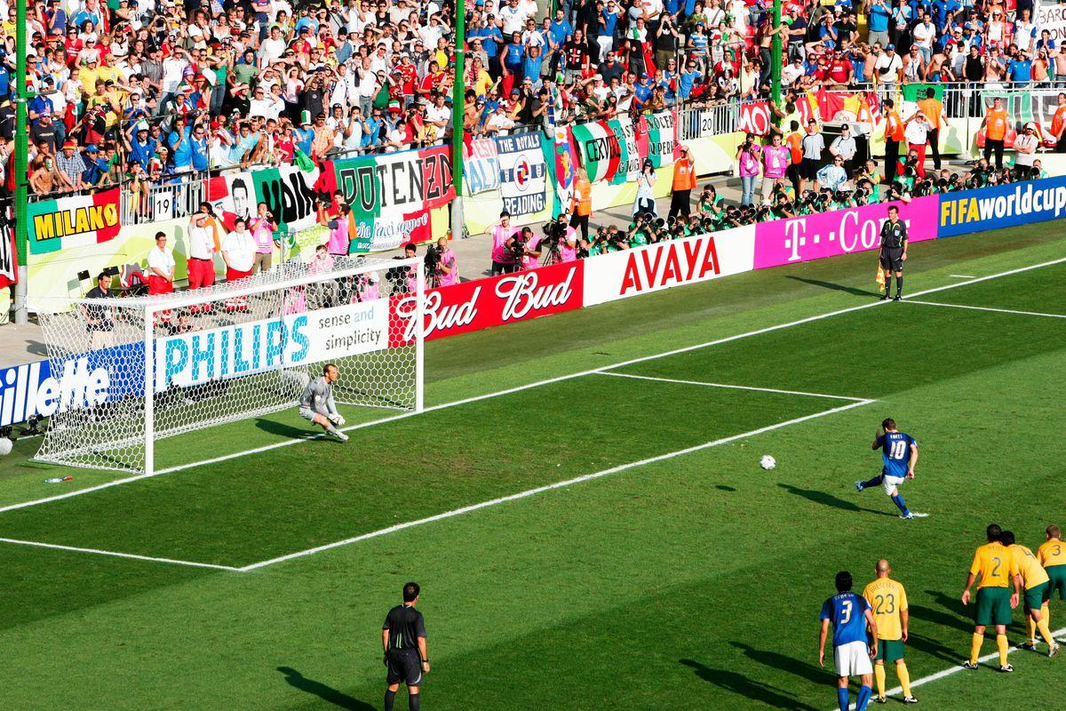 FIFA World Cup - Italy v Australia