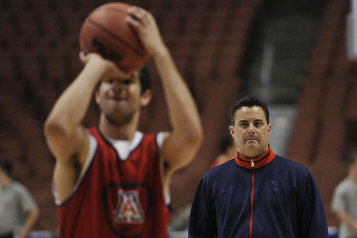 Lookin' all kinds of creepy there, Sean Miller.