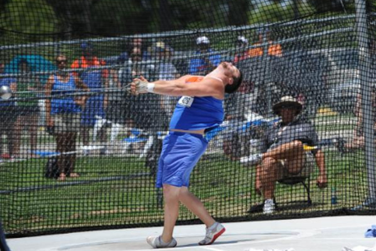 """Jeremy Postin will compete for the NCAA Championship in the hammer throw. (via <a href=""""https://twitter.com/#!/GZTrackField/status/206085777455718401"""" target=""""new"""">@GZTrackField</a>)"""