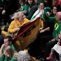 """Apparently Minnesota has a """"crazy blanket lady"""" who runs around the arena invoking the crowd. It works."""