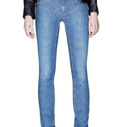 "<b>Acne</b> Kex Marine Jeans, <a href=""http://shop.acnestudios.com/shop/women/jeans-1/kex-marine-17.html"">$270</a>"