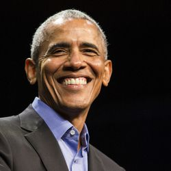 Former President Barack Obama headlines a Get Out The Vote rally in November 2018. | Ashlee Rezin/Sun-Times