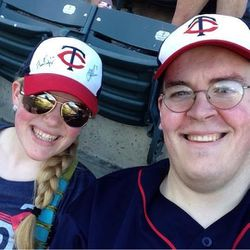 This one may have made it on the scoreboard for TwinsPics.