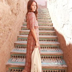 """Samantha of <a href=""""http://www.couldihavethat.com""""target=""""_blank"""">Could I Have That?</a> is wearing a <a href=""""http://www.heidimerrick.com/products/sahara-dress#.UyKAw_2uclI""""target=""""_blank"""">Heidi Merrick</a> dress, a <a href=""""http://shop.nordstrom.com/s/"""