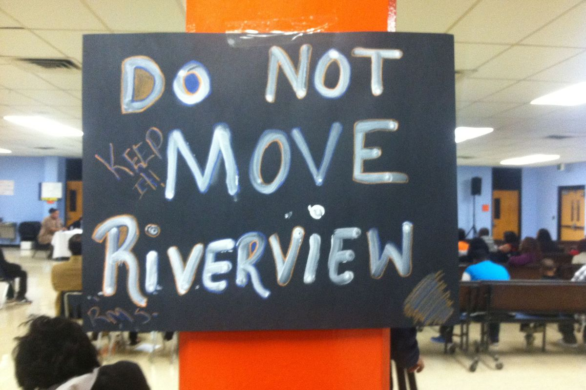 Riverview closings meeting