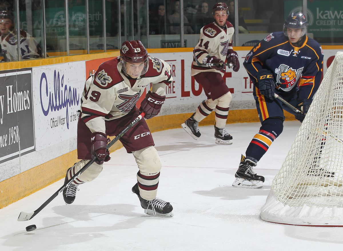 Barrie Colts v Peterborough Petes