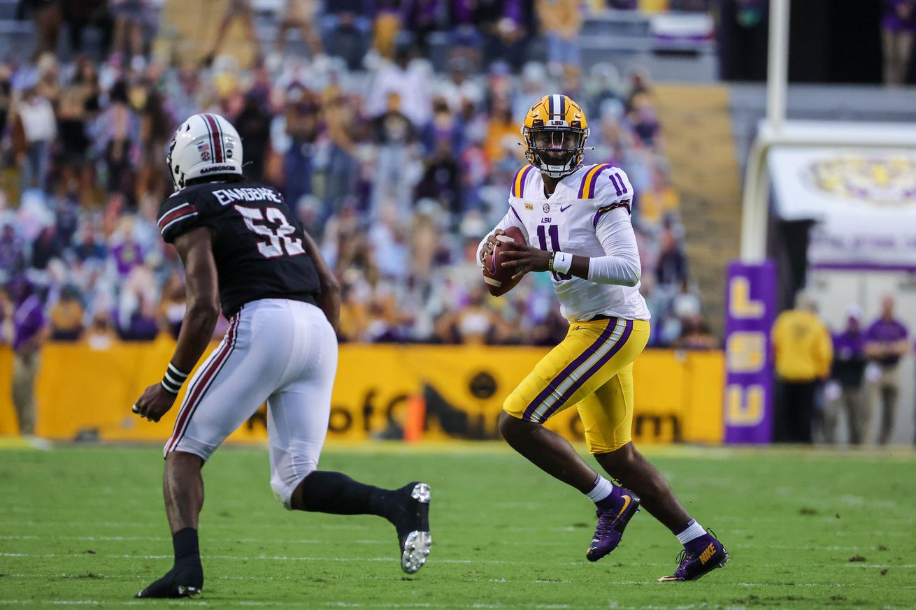 NCAA Football: South Carolina at Louisiana State