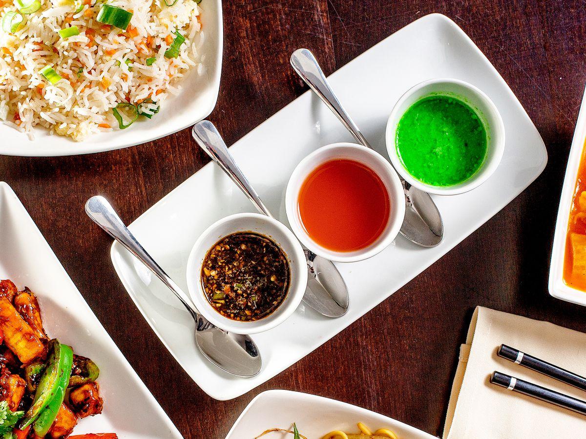 Desi-Chinese food at Hakkaland, Harrow, London