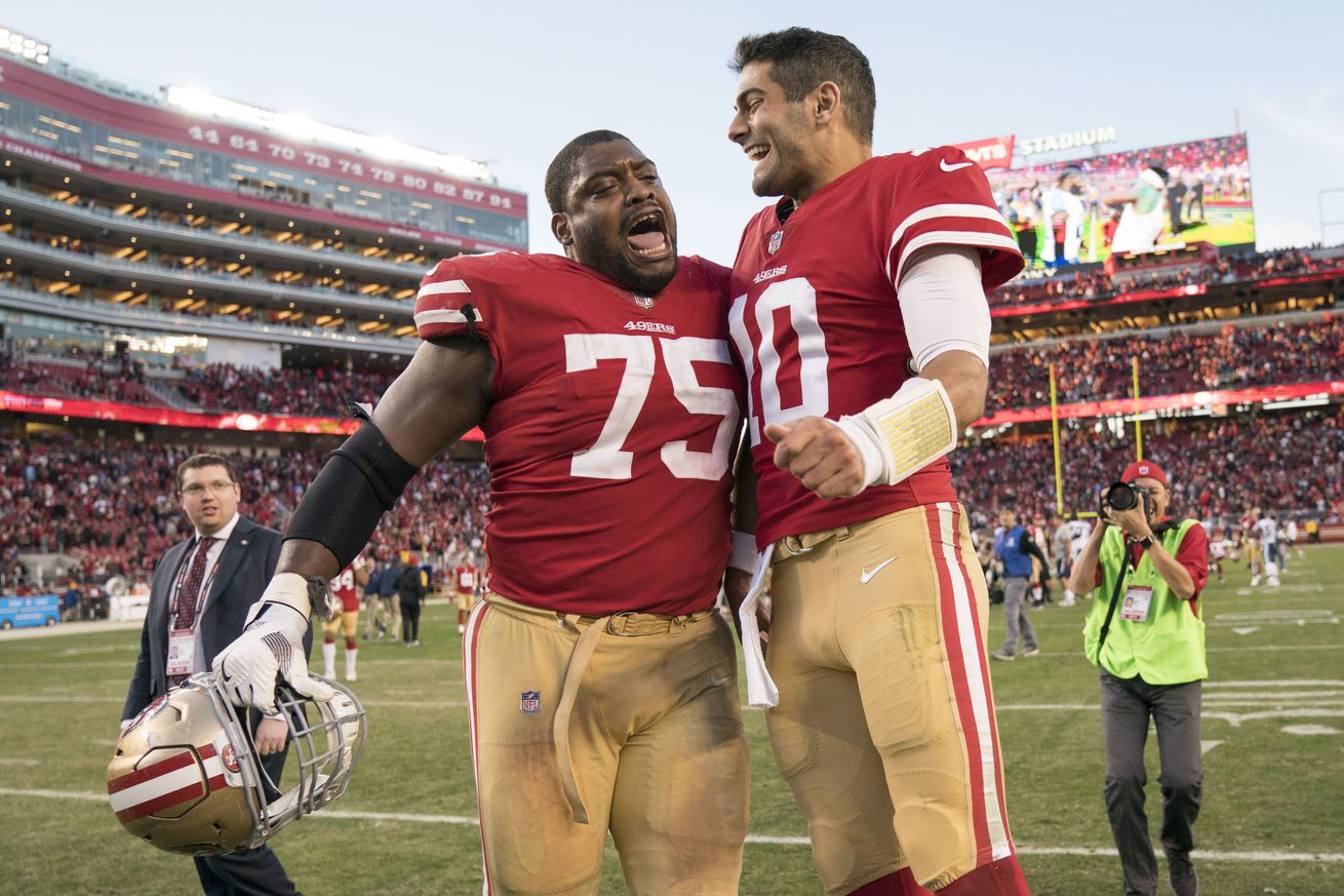 Former Lions G Laken Tomlinson signing 3-year extension with 49ers