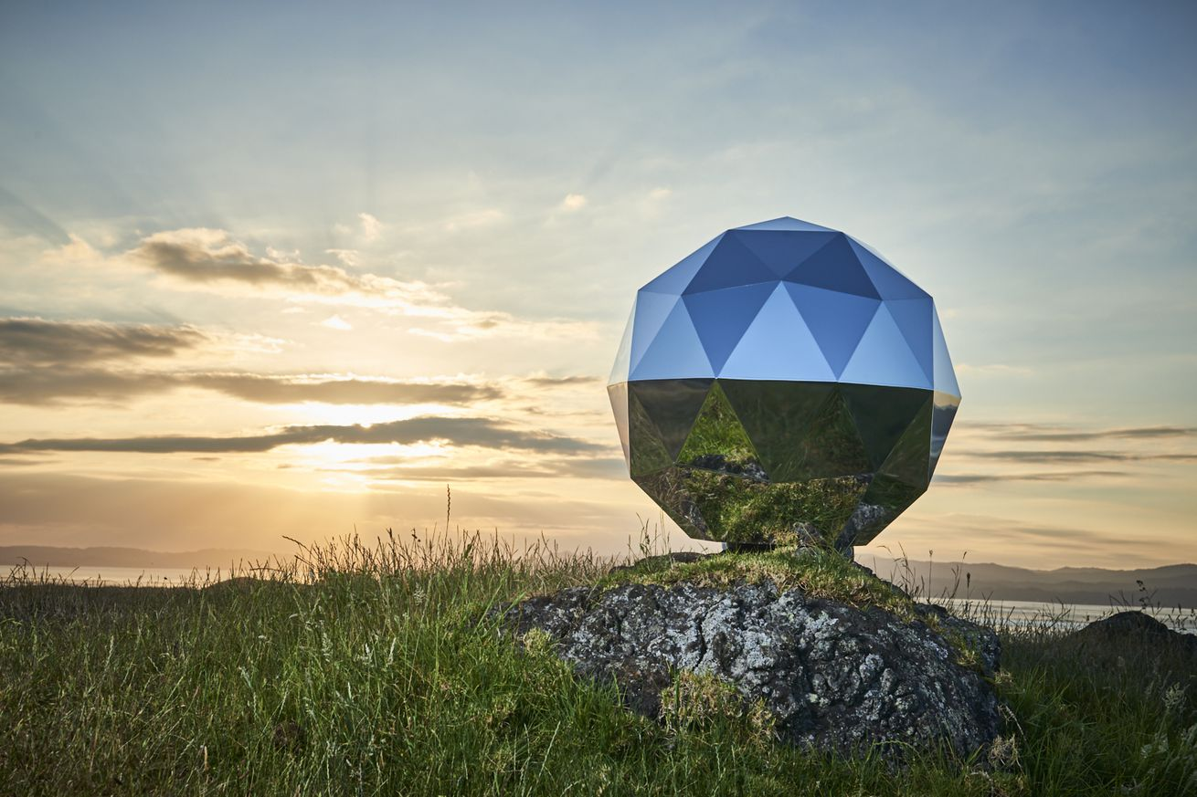rocket lab s disco ball satellite has plunged back to earth and some aren t sad to see it go