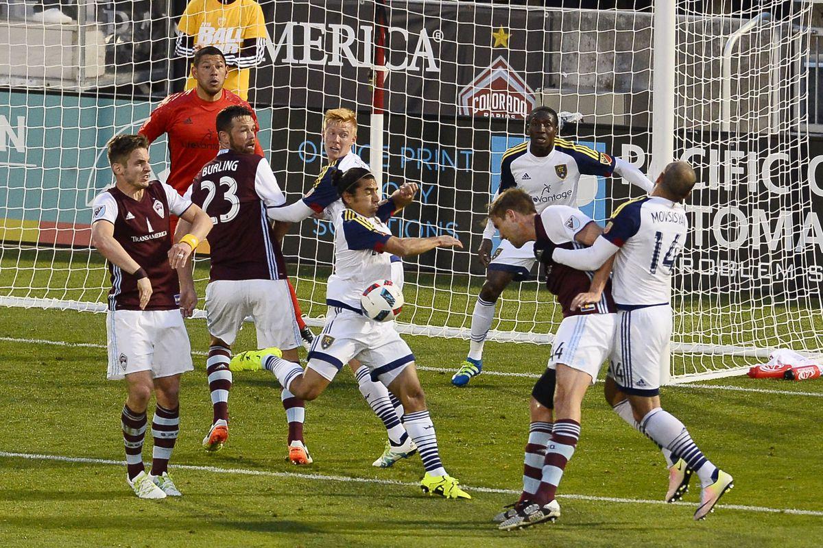 MLS: Real Salt Lake at Colorado Rapids