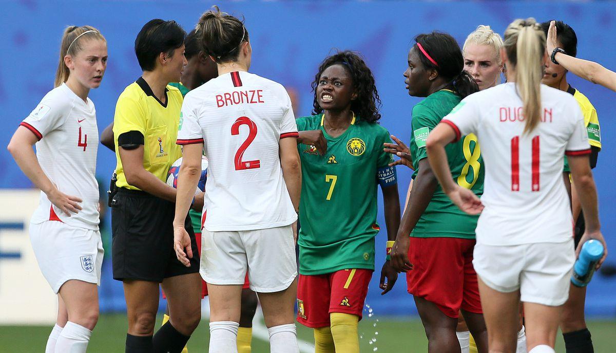 England v Cameroon - FIFA Women's World Cup 2019 - Round of Sixteen - Stade du Hainaut