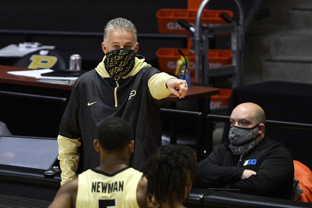 NCAA Basketball: Northwestern at Purdue