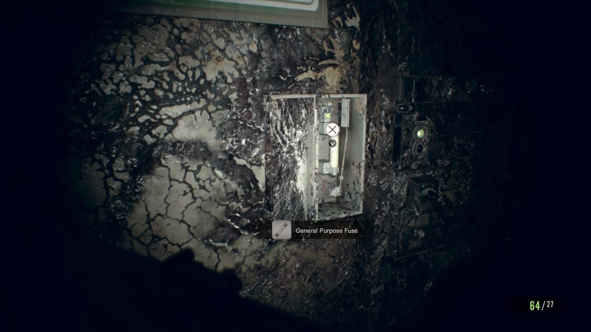 Resident Evil 7 guide and walkthrough 6-4 Fixing the