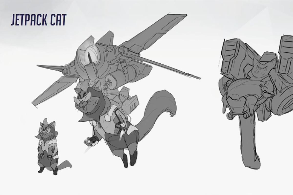 here s overwatch s canceled jetpack cat hero polygon