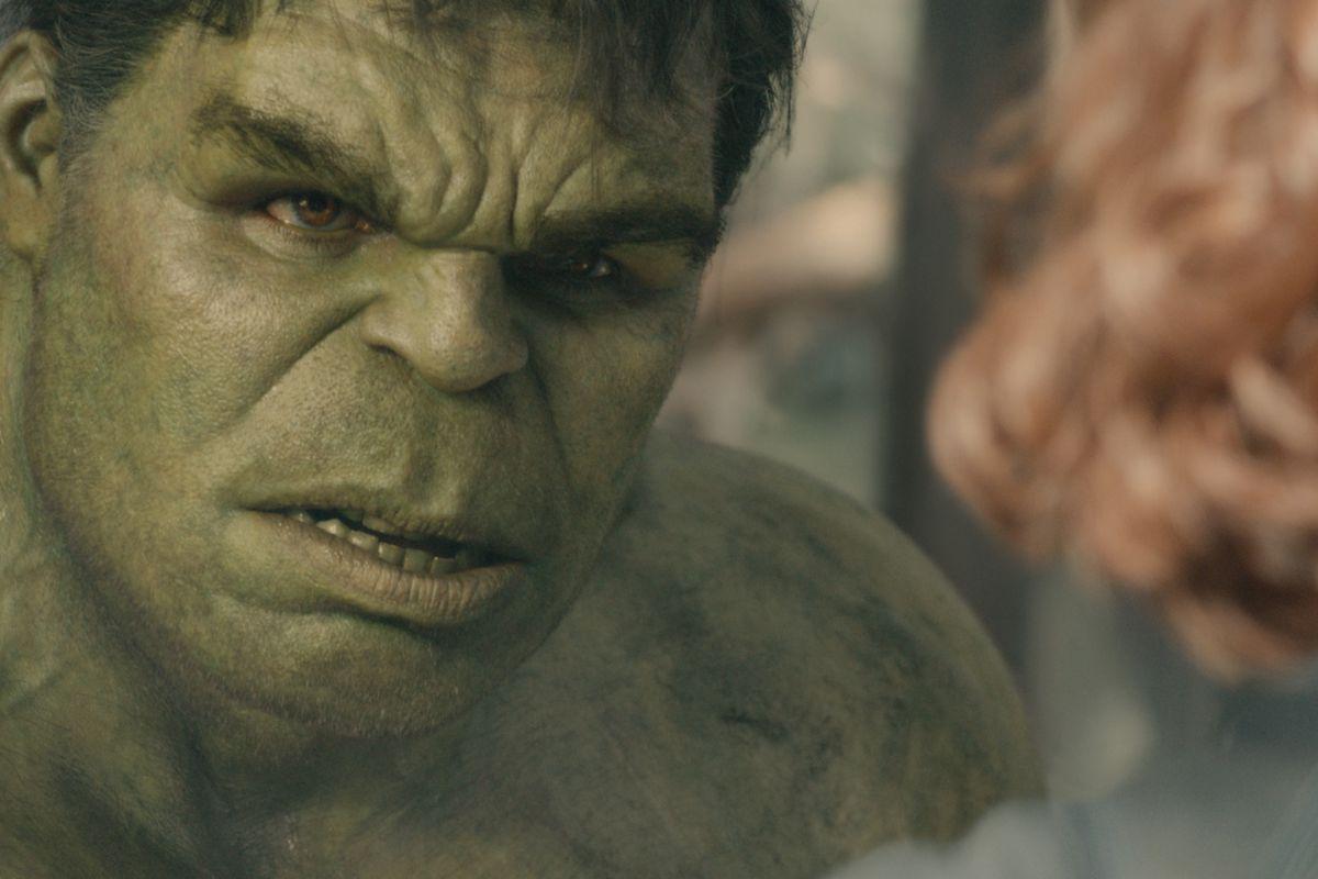 """Hulk/Bruce Banner (Mark Ruffalo) in Marvel's """"Avengers: Age Of Ultron."""""""