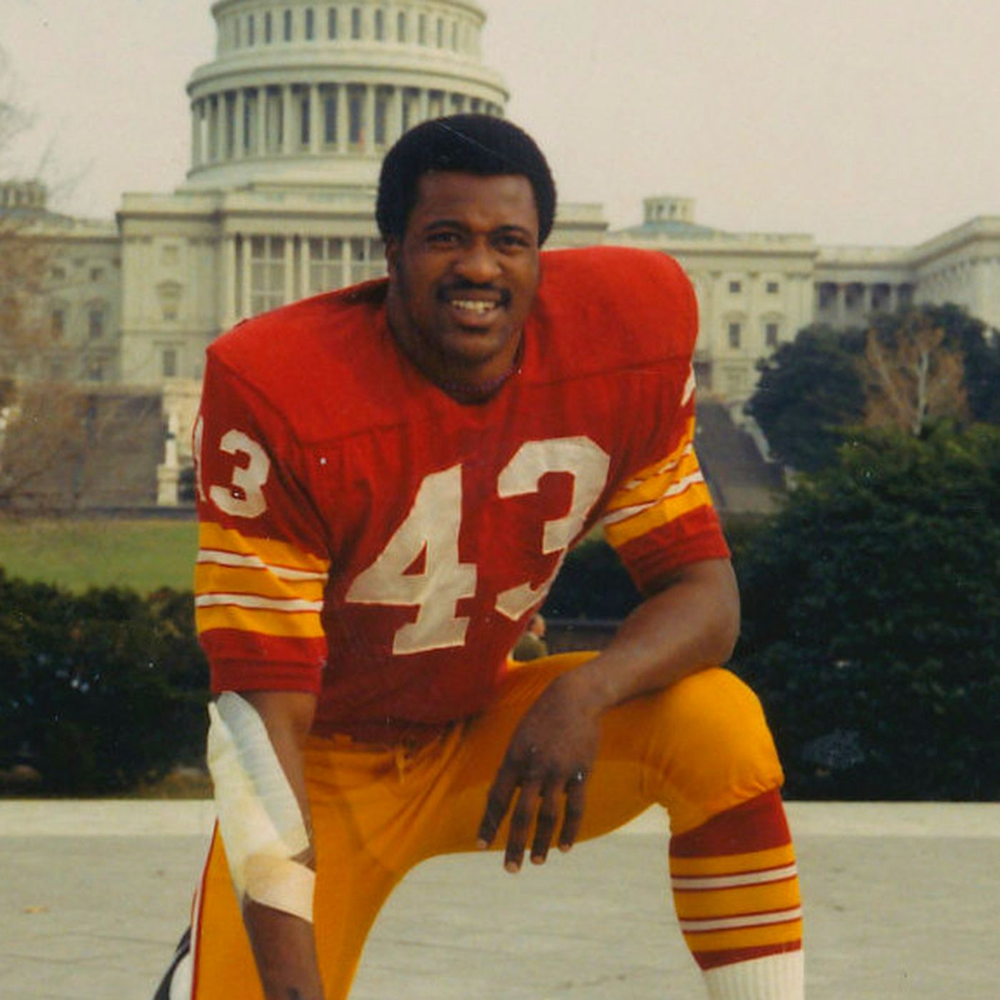 newest 4492e 235e0 Redskins by the (Jersey) Numbers: #43 - Larry Brown - Hogs Haven