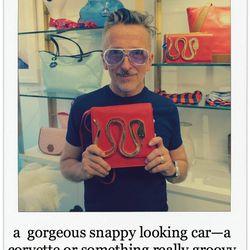 Simon Doonan, Creative Ambassador, Barneys New York