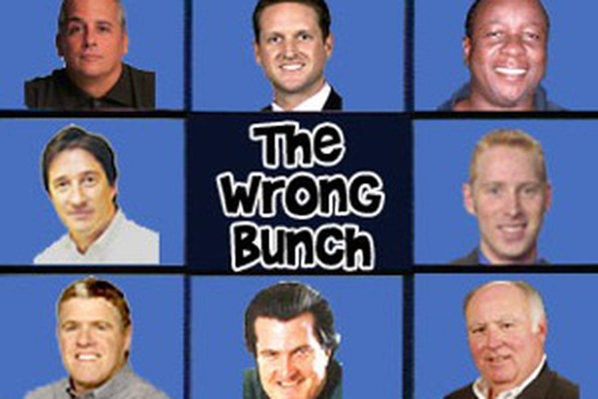 Mock Draft Wrong Bunch
